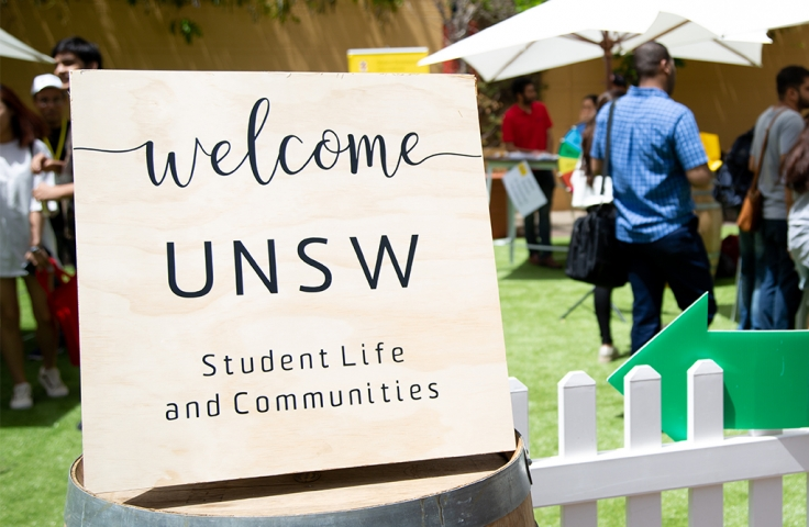 welcomeUNSW